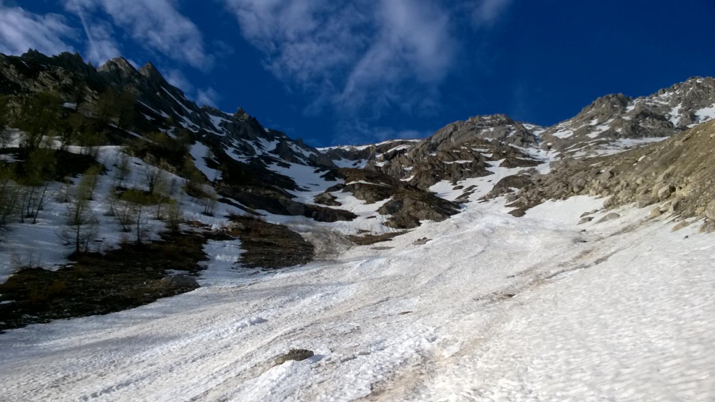 Charrà (Punta) spalla 2700 m Couloir Monica 2015-05-19