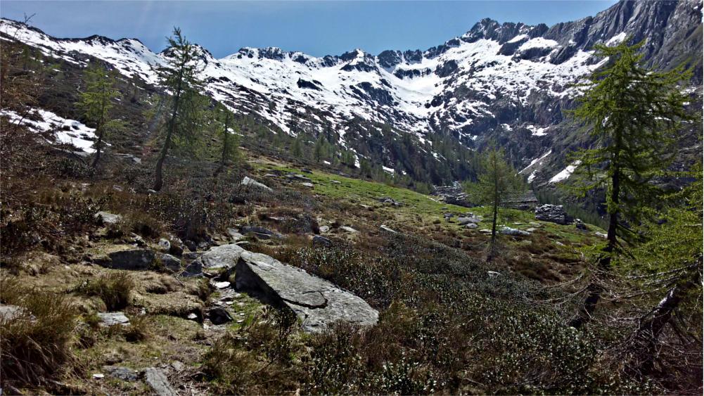 Arrivo all'Alpe Ancium
