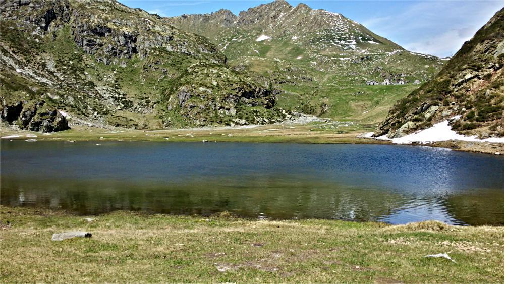 Lago di Baranca ed alpe Selle