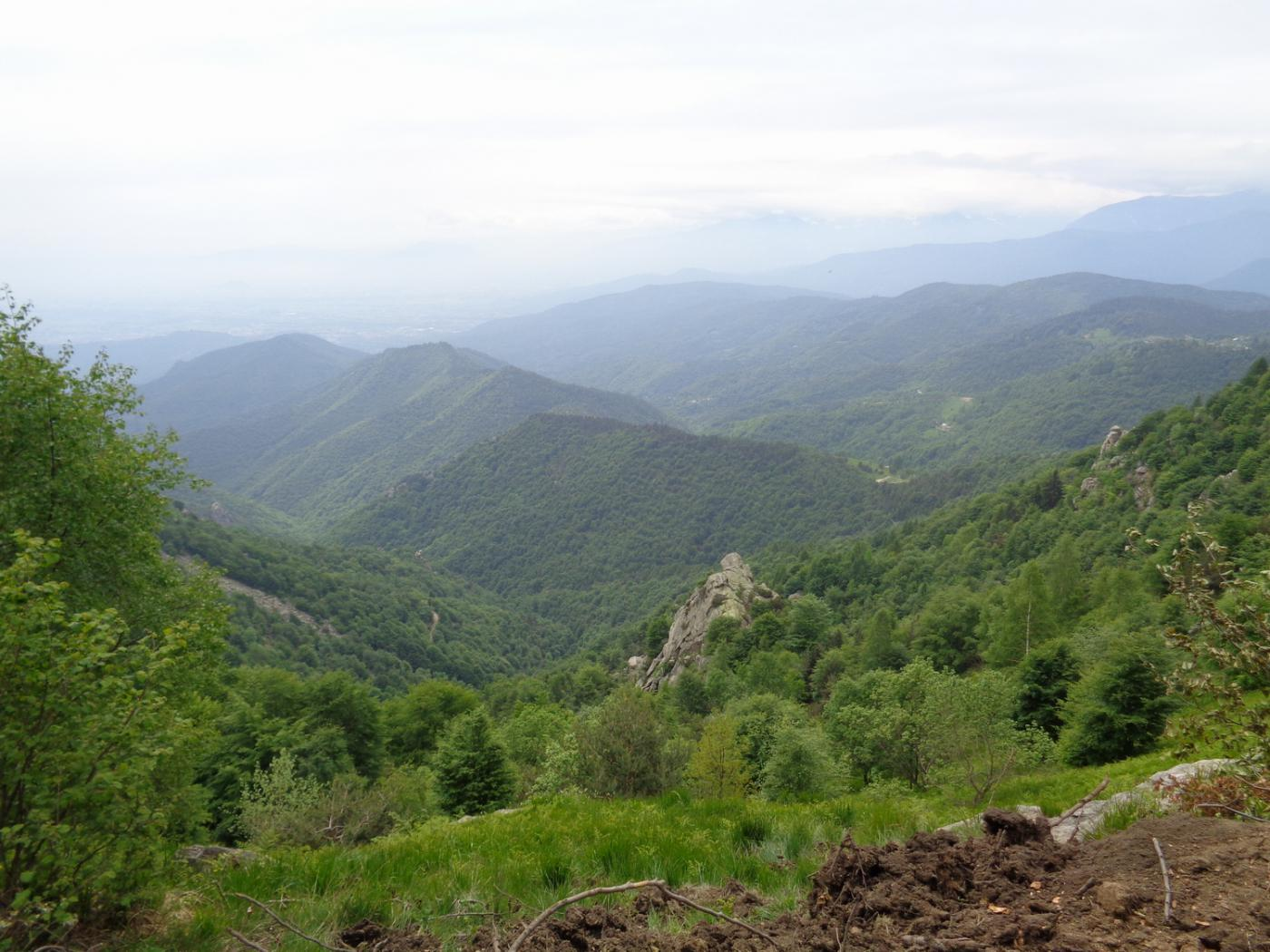 Crò (Colle del) da Cumiana, giro del Monte Freidour per il Colle Prà l'Abbà 2015-05-23