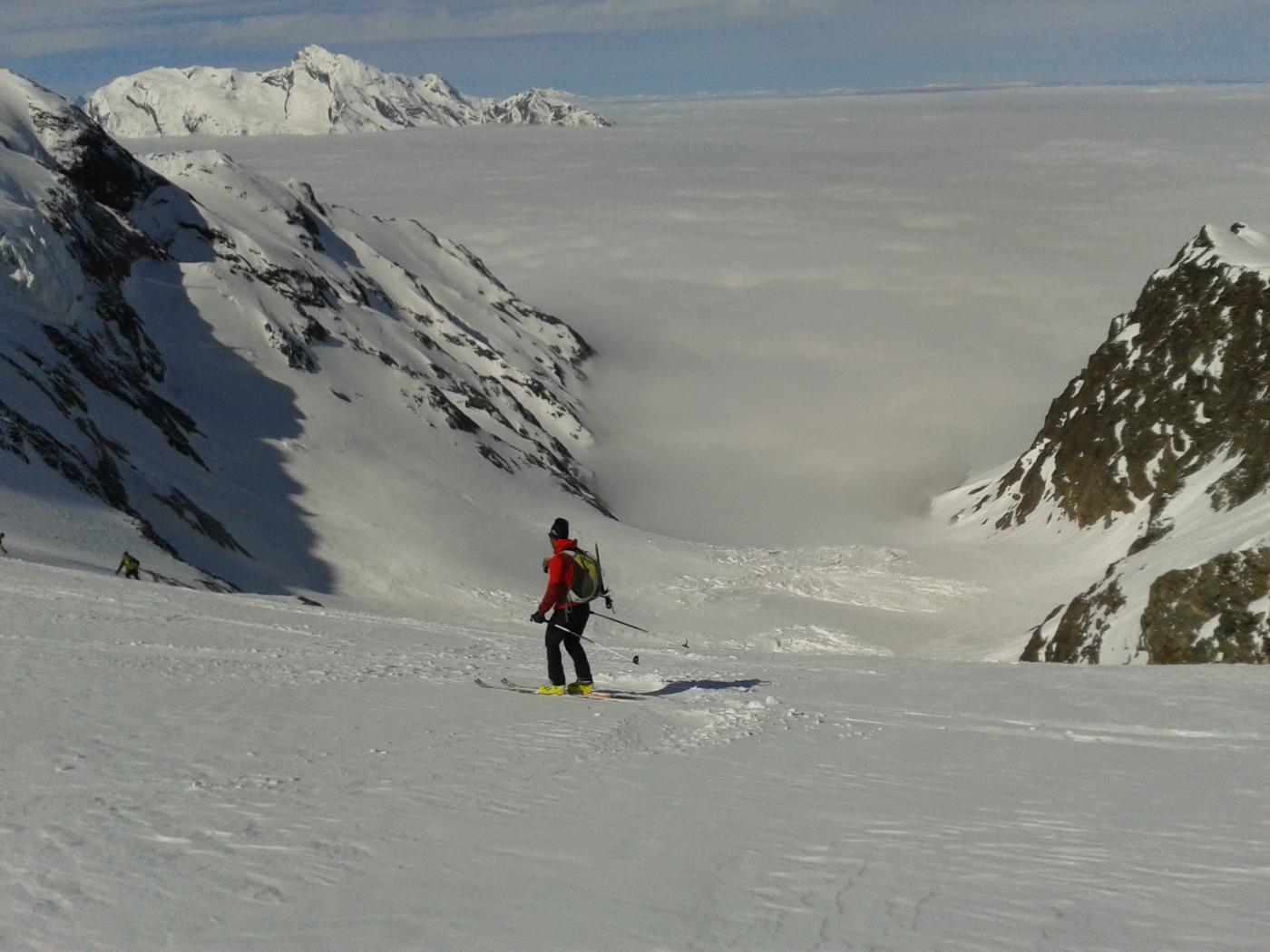 mare di nuvole in Francia