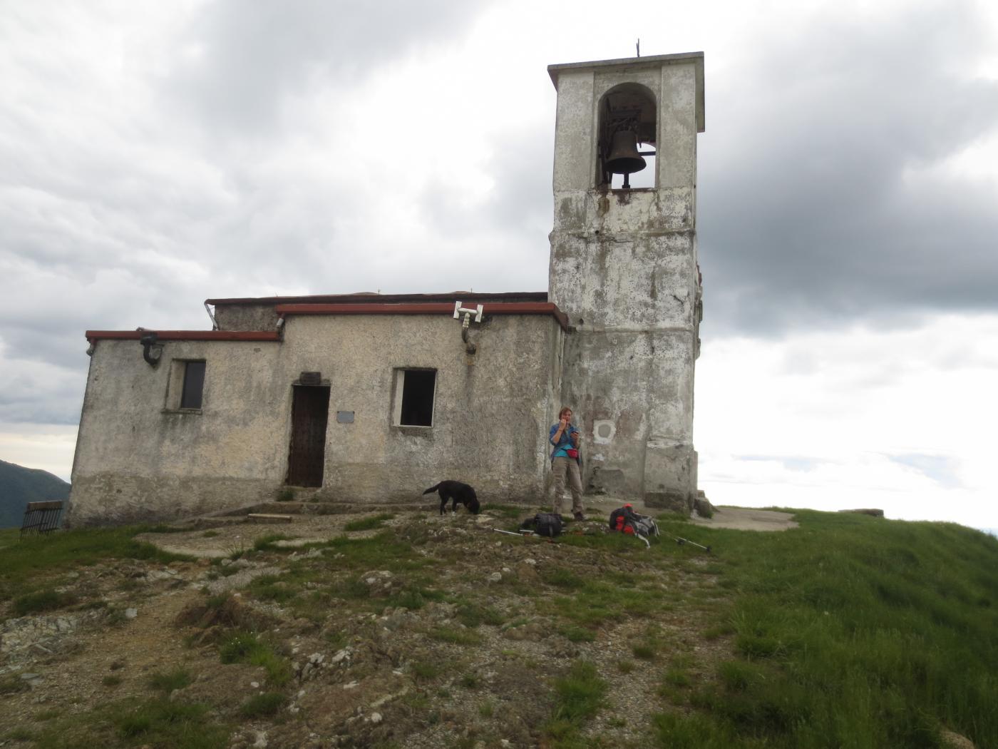 La chiesetta della vetta