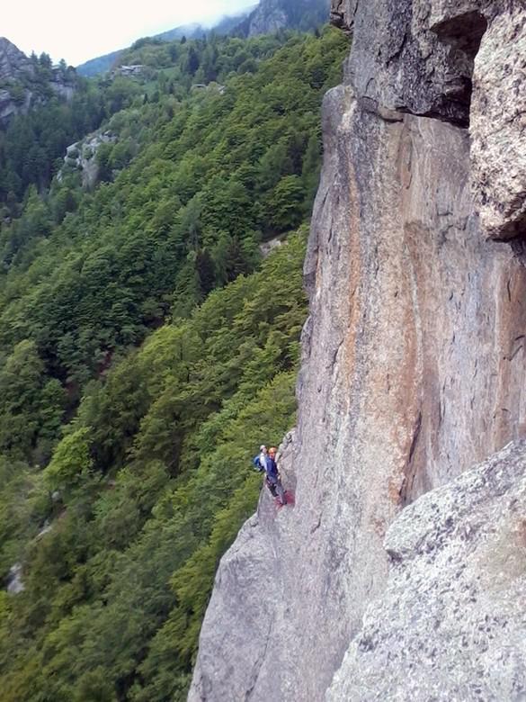 s2 via camino vista da base fessura Motti