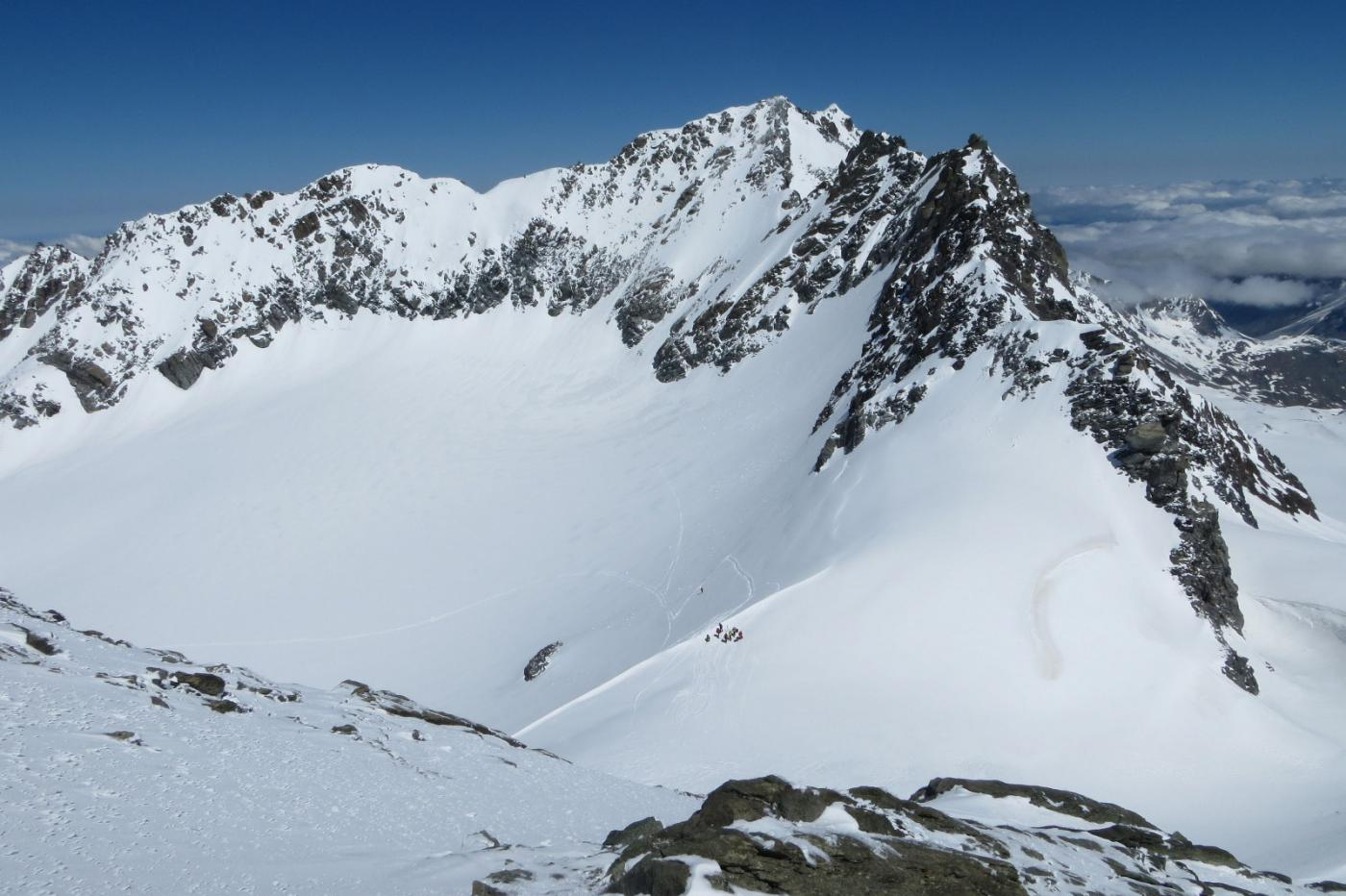 Gebroulaz (Mont du) da Val Thorens per il Col du Gebroulaz 2015-05-27