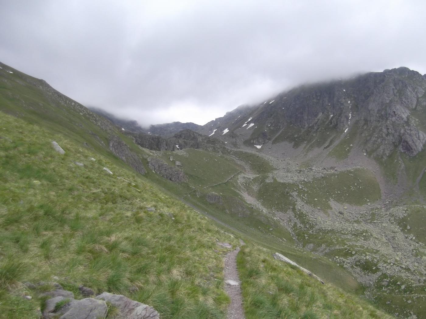 il vallone dalla Baisse Cavaline