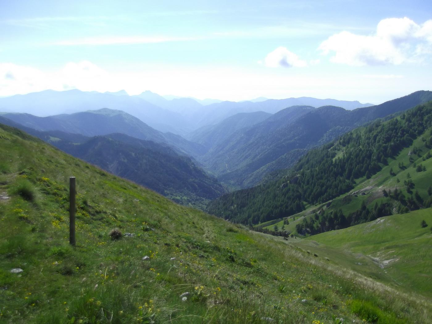 Vallon de Cayros dal Col de Raus
