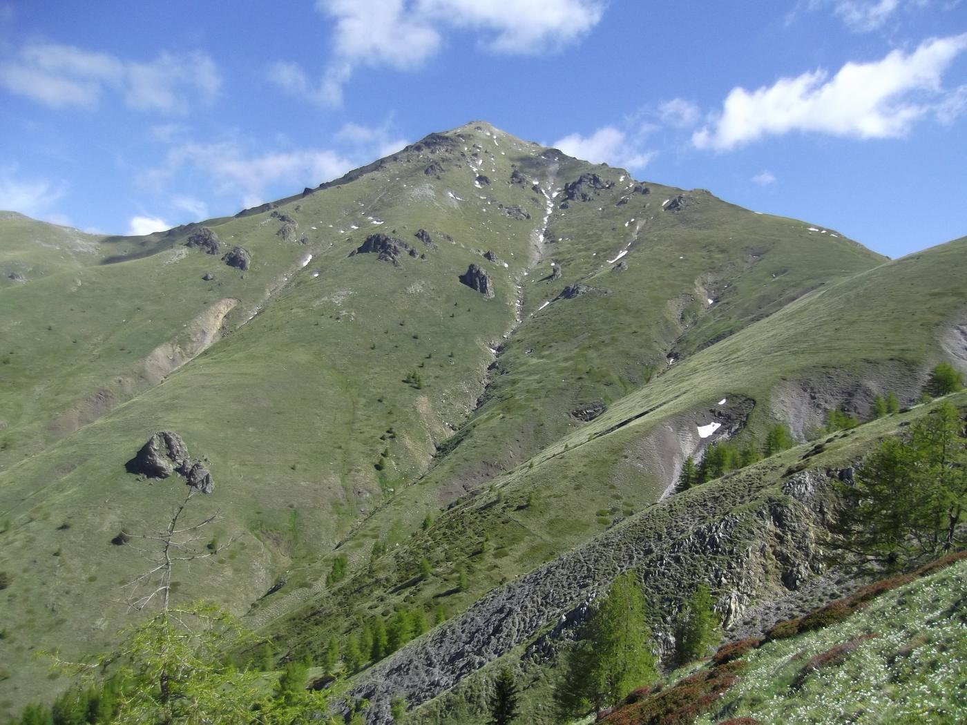 la salita al Mont Capelet Superiour