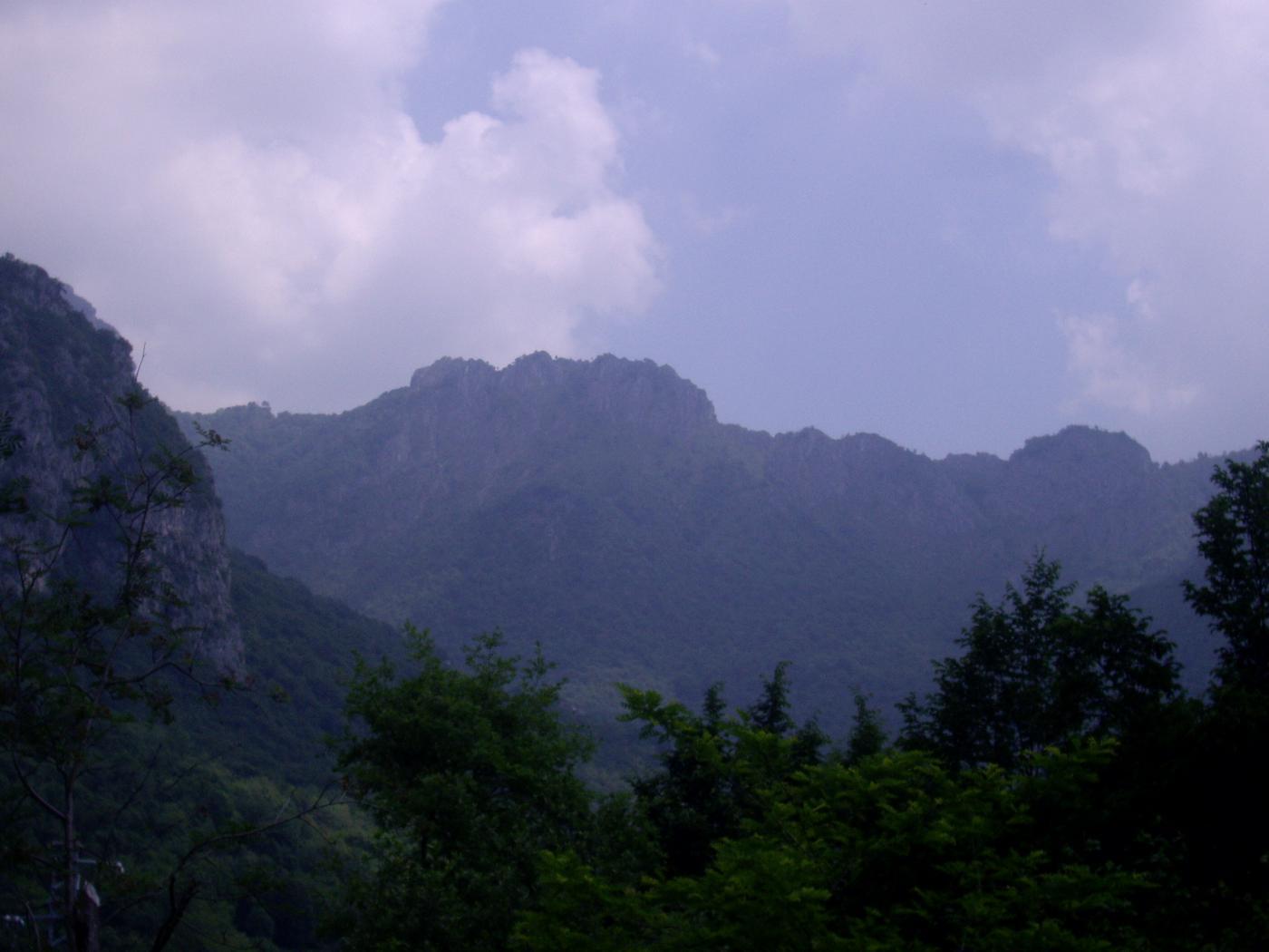 Una parte della cresta