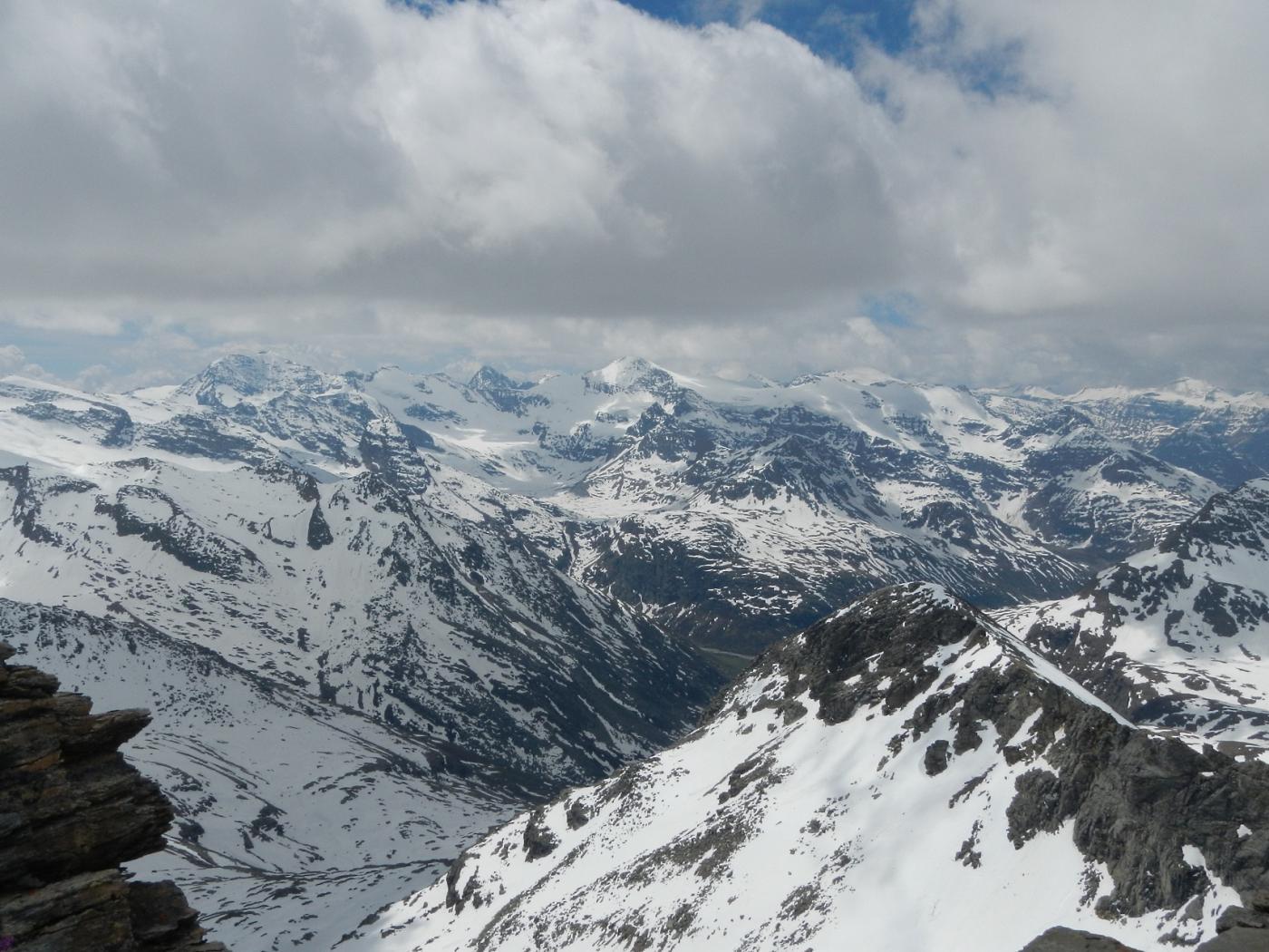 panorama verso L'Albaron