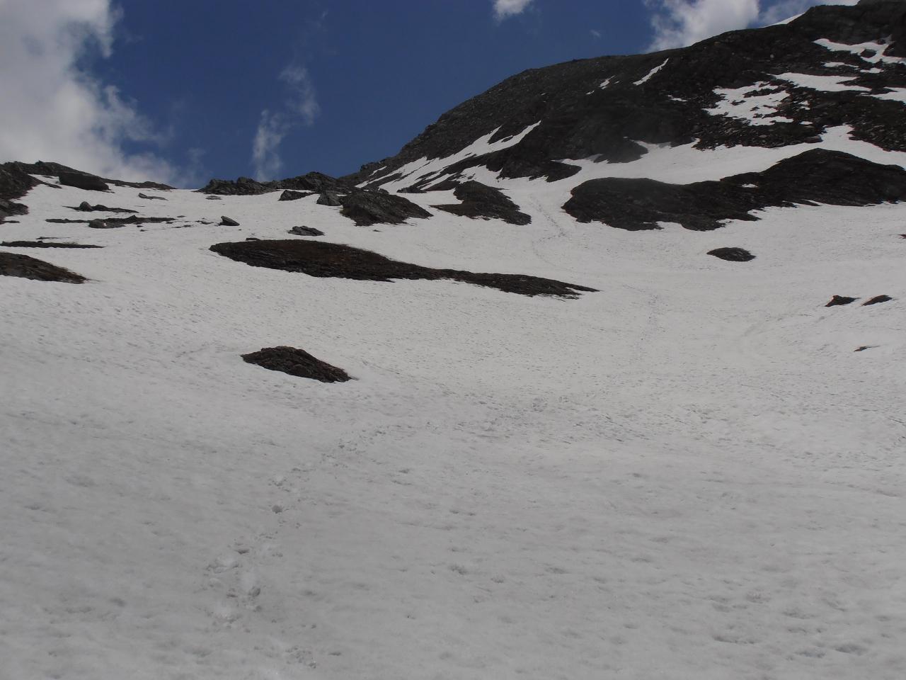 07 - nevai sotto il colle della Croce di Ferro