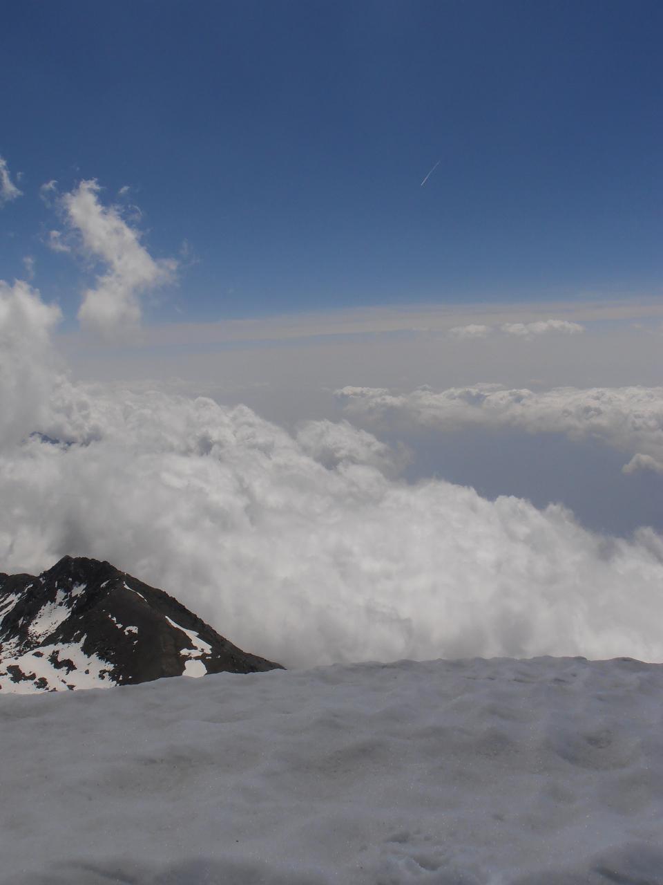 06 - sempre tra le nuvole, dalla cima