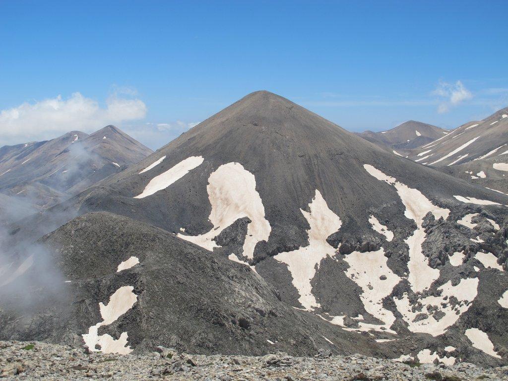 Aghio Pnevma (Monte) da Gournes per la cresta NE 2015-05-31
