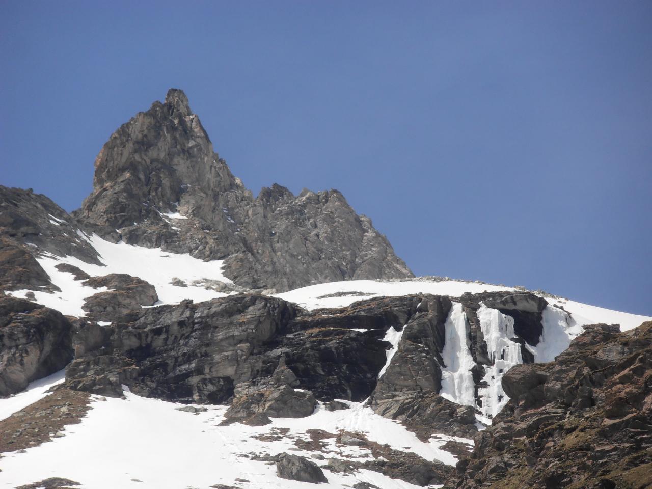 03 - dettaglio Petit Vallon con cascate di ghiaccio