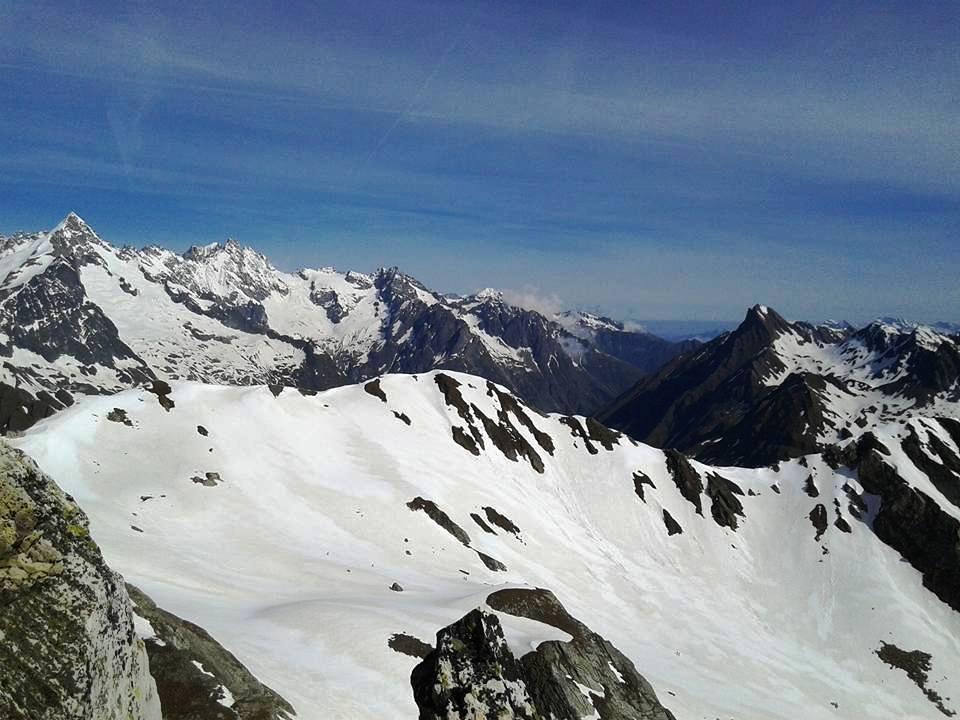 panorama sul Dolent