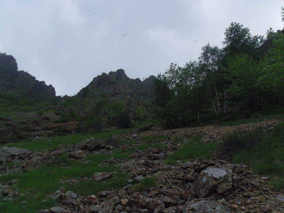 l'ultima parte della cresta nord