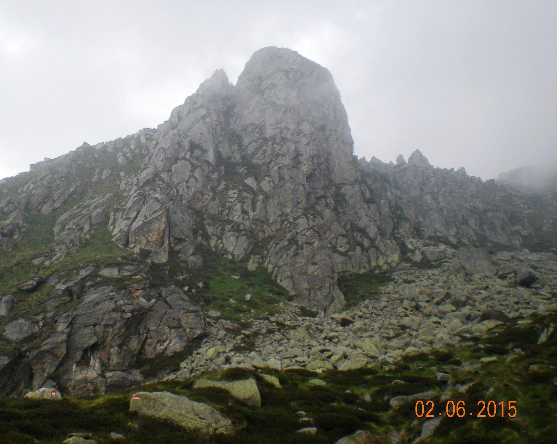 La Mitria è una piccola ma vera montagna, altro che falesia...