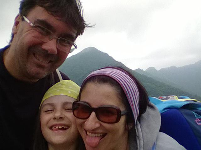 Selfie famigliare con il Saben
