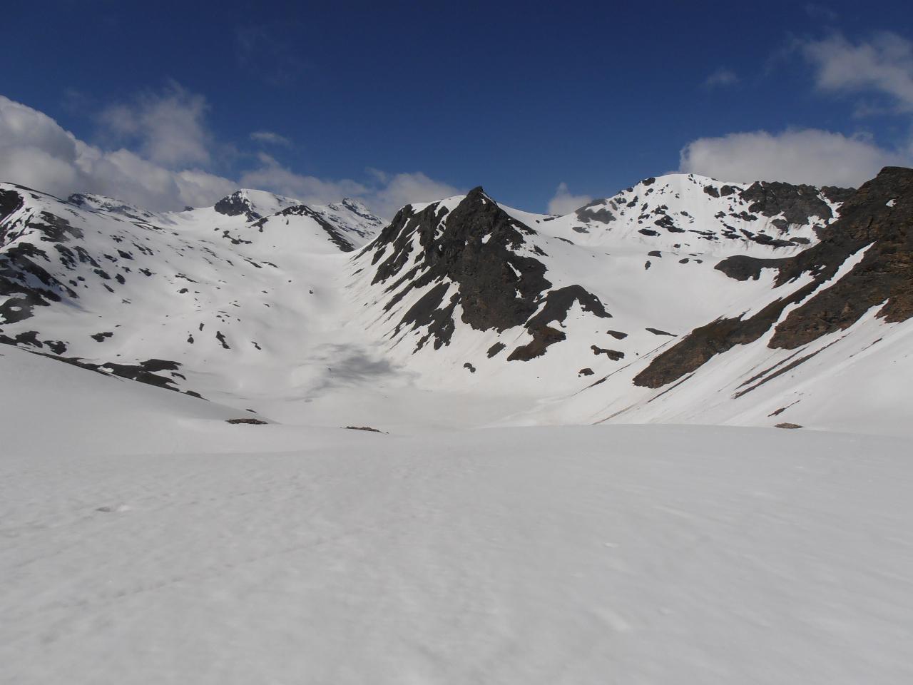 08 - panorama verso ovest, Pointe de Bezin sud e nord; sullo sfondo Buffettes e Mean Martin