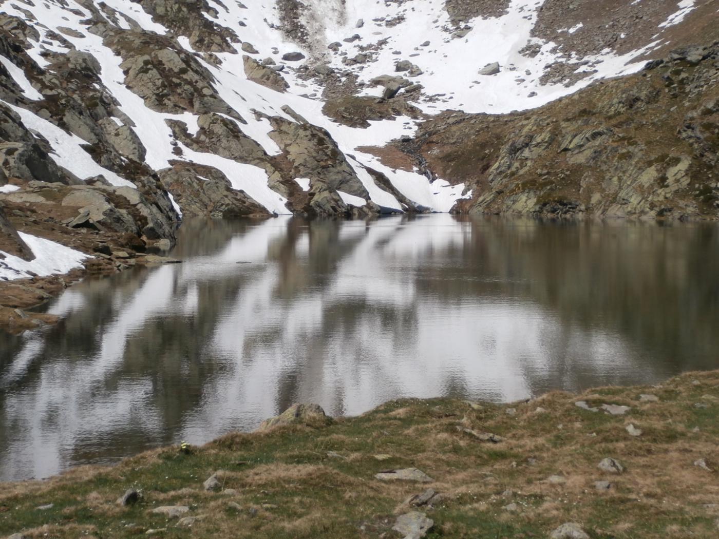 riflessi nel lago di Fond....
