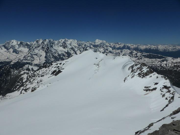 Alpjergletscher e Breithorn
