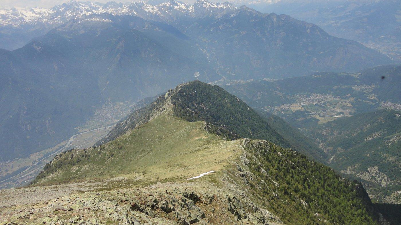 Aquila (Monte dell')da Omens per la dorsale Ovest 2015-06-06