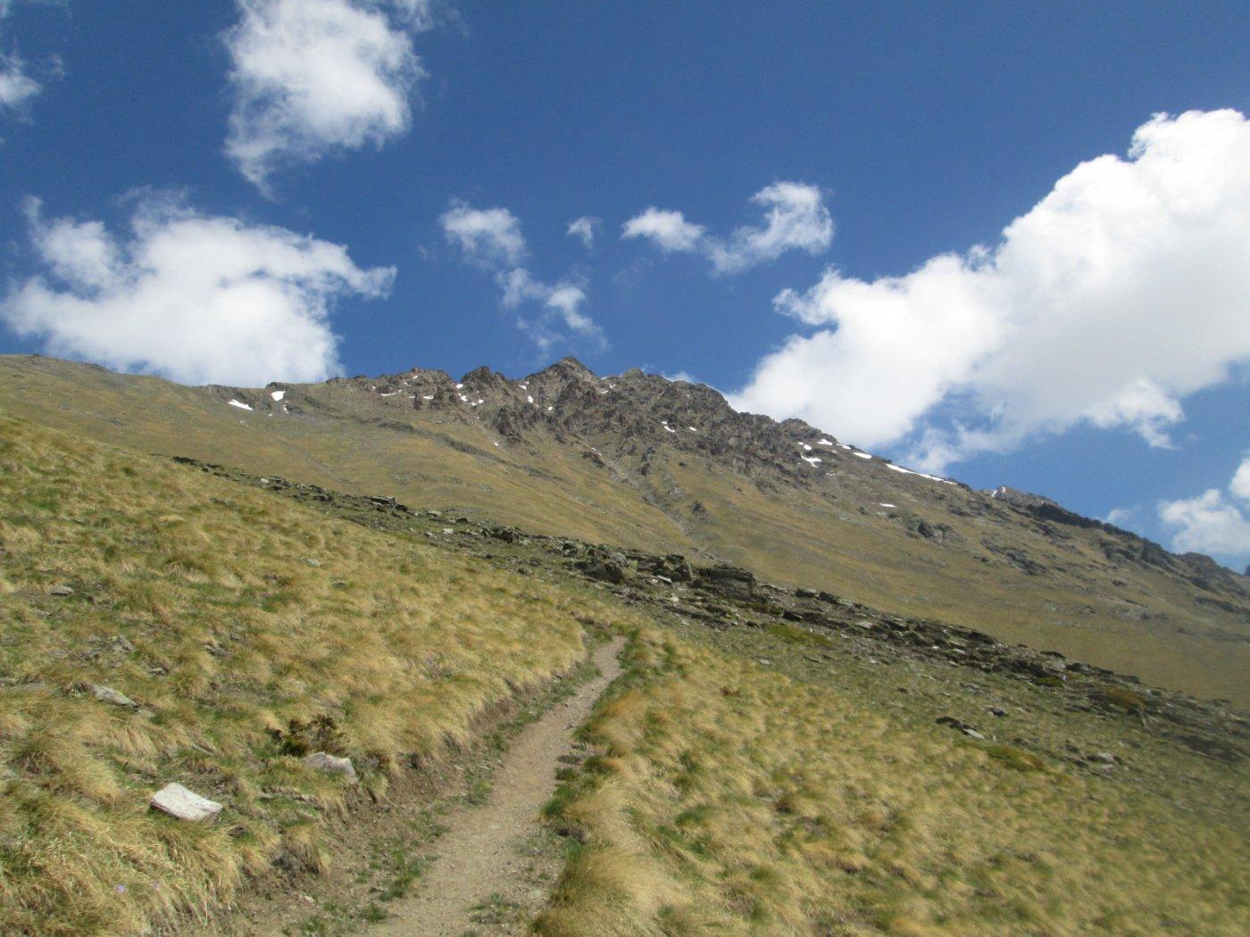 il bellissimo sentiero verso Tsaplana