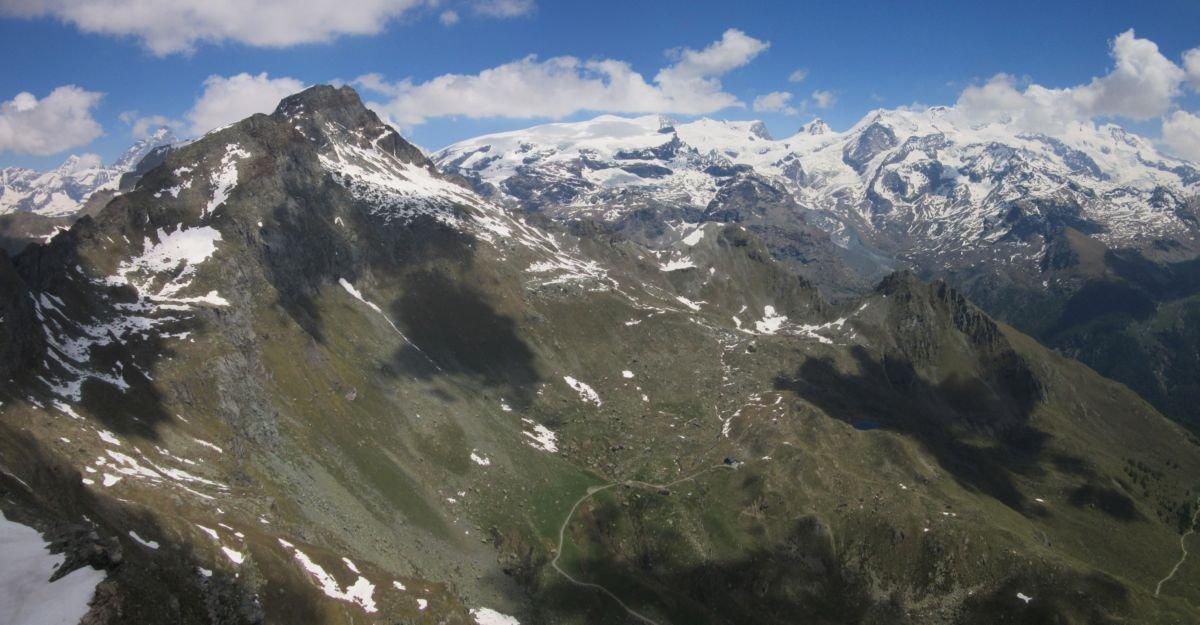Vista sul Rifugio Tournalin