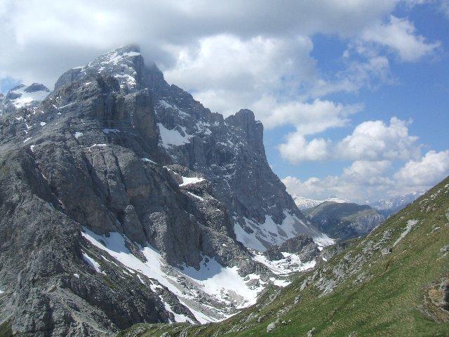 Monte Civetta salendo al M. Coldai
