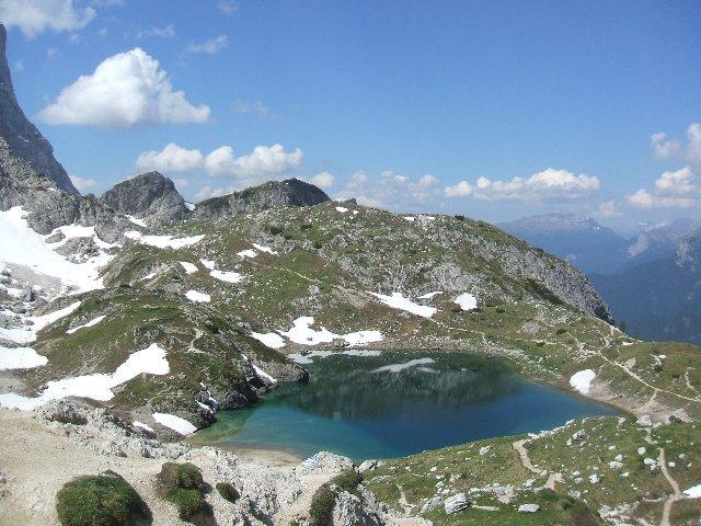 lago Coldai a 15' dal rifugio omonimo