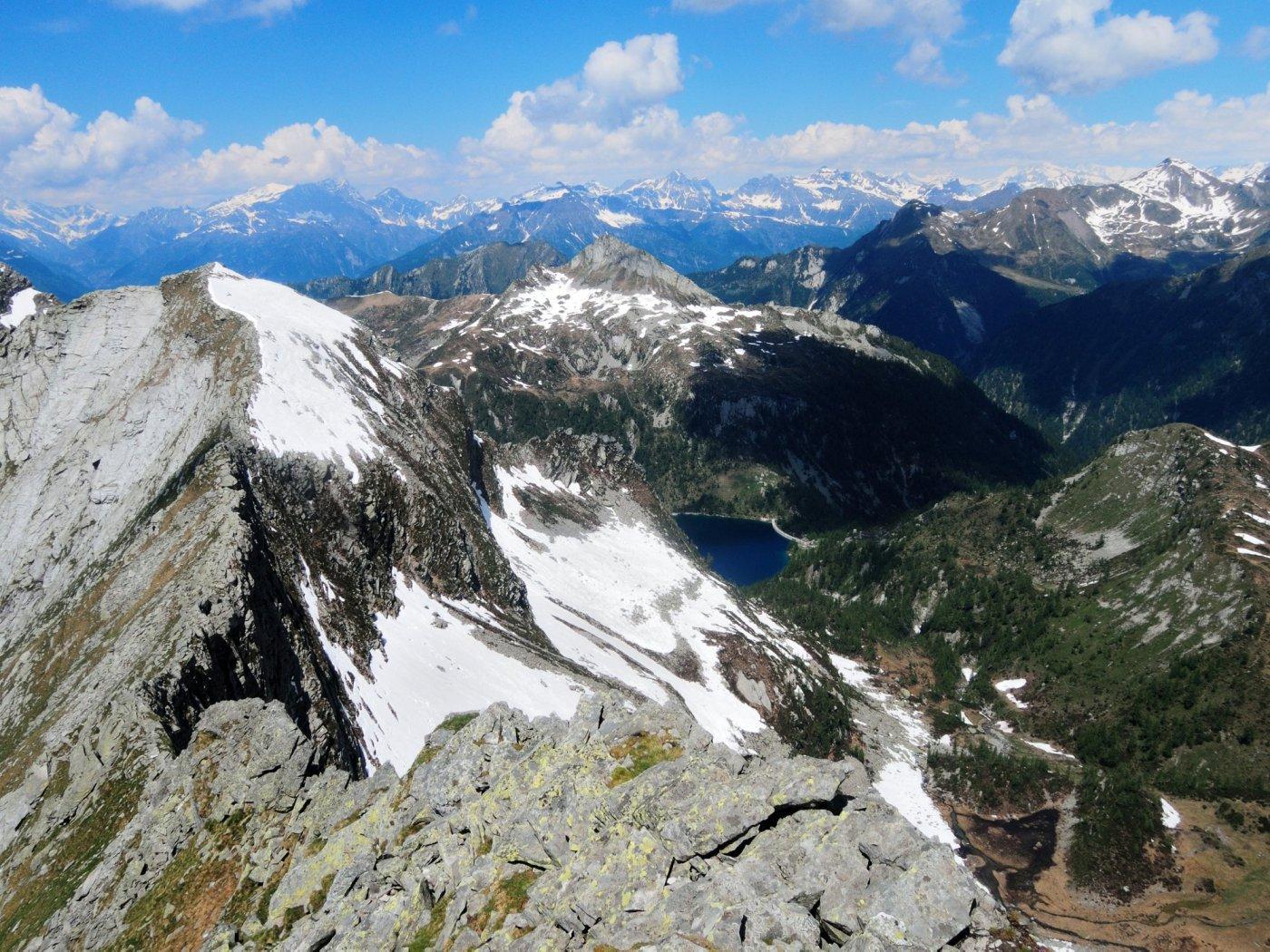 Cresta Ovest e Lago di Larecchio