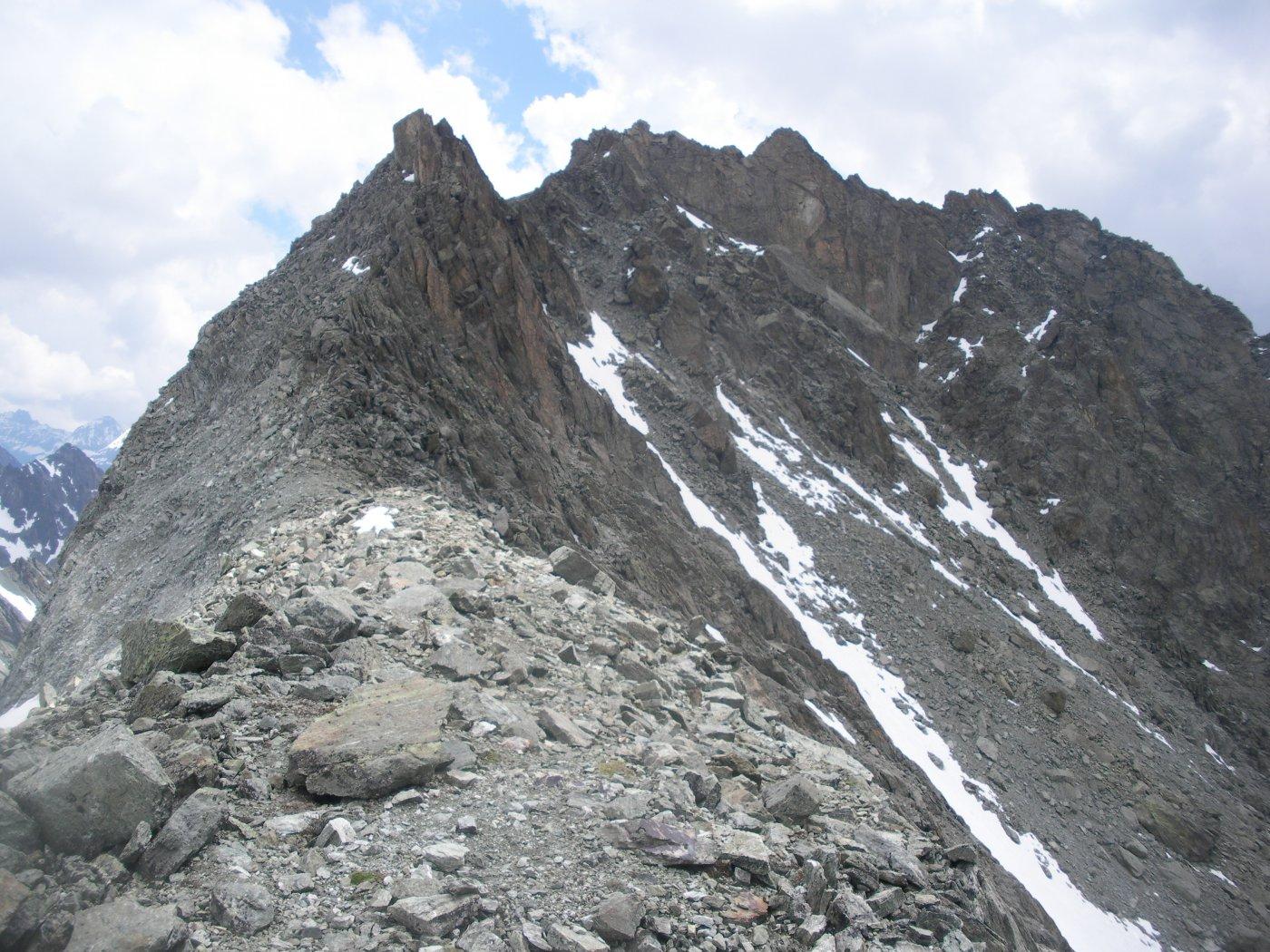 L'Aroletta sud dal Col di Faudery..