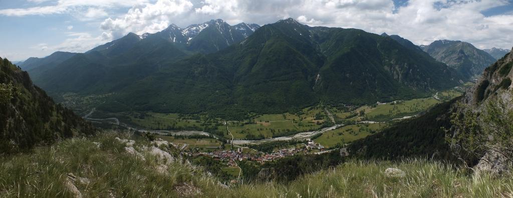 Balcone sulla valle Stura