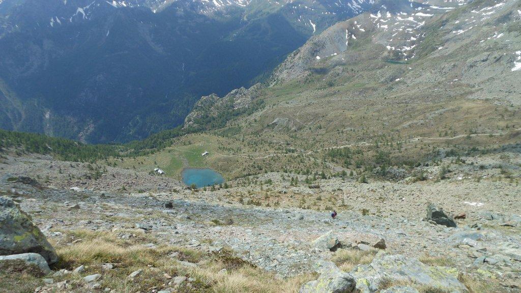 Vista verso Lac Muffé