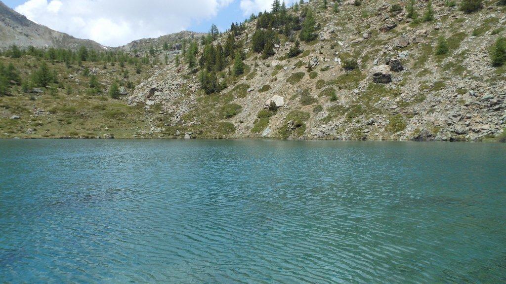Le acque azzurre del Lac Muffé