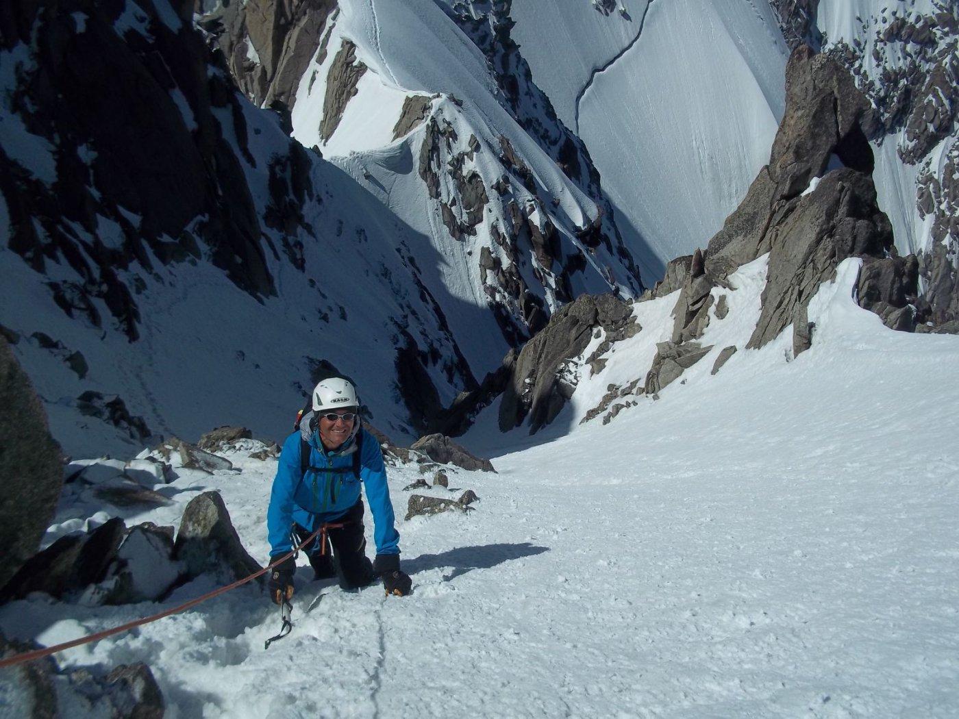 Plan (Aiguille du) Cresta Aiguille du Midi - Aiguille du Plan 2015-06-07