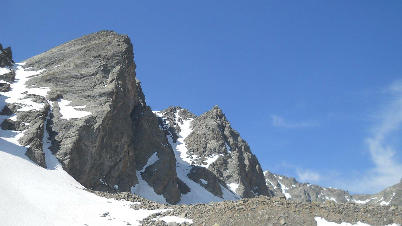 La Rocca Vista Dal lago Mongioie