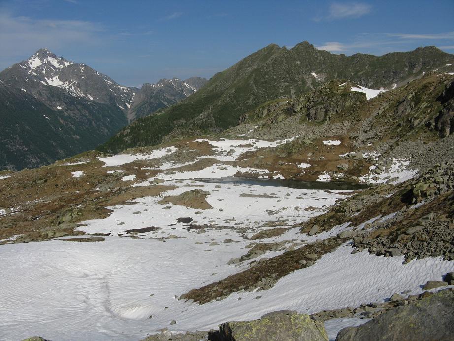 parte centrale con vari laghetti