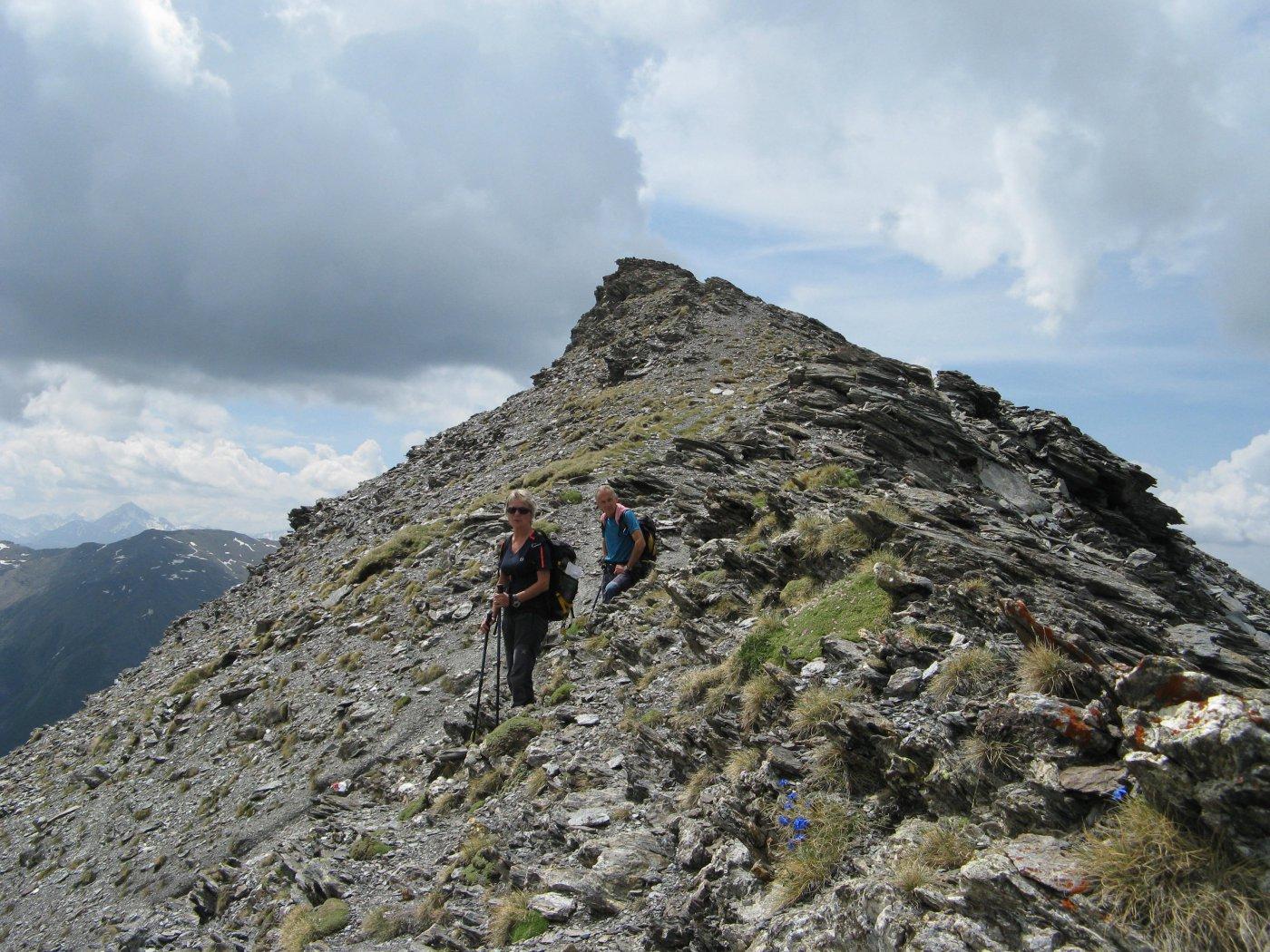 Verde (Roccia) da Rochemolles, anello per il Passo di Roccia Verde e Croce Paumort 2015-06-07