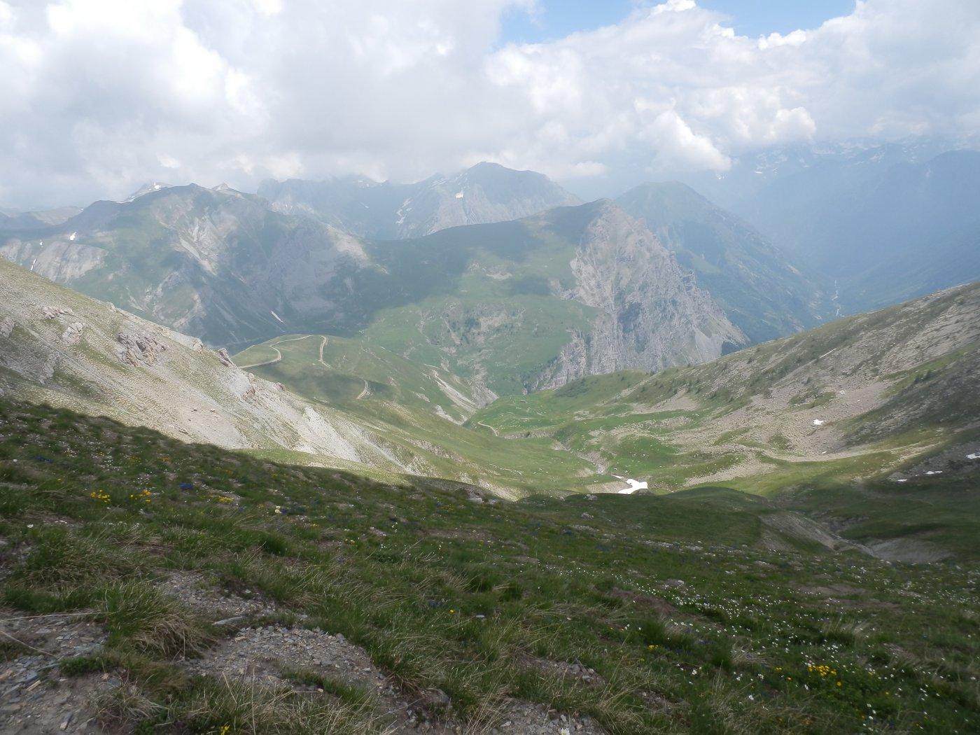 dal Colle Vallonetto, vista verso Ovest