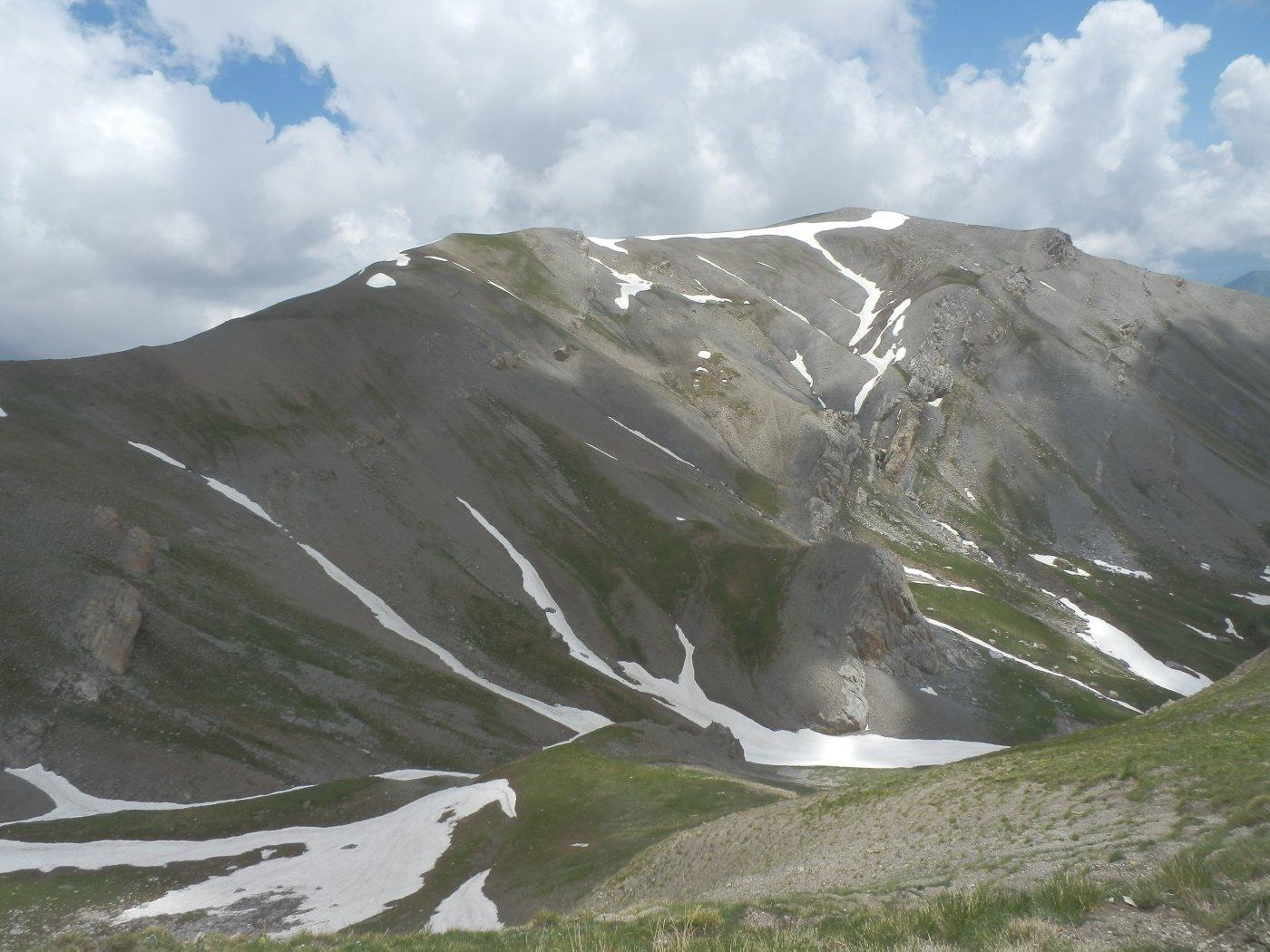 dorsale NW del Bodoira vista dal Monte Giordano