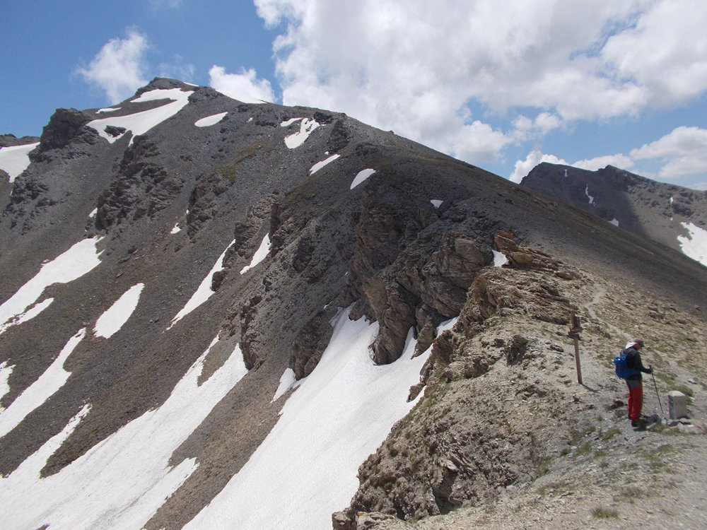 Monte Viraysse ,dal Colle Sautron