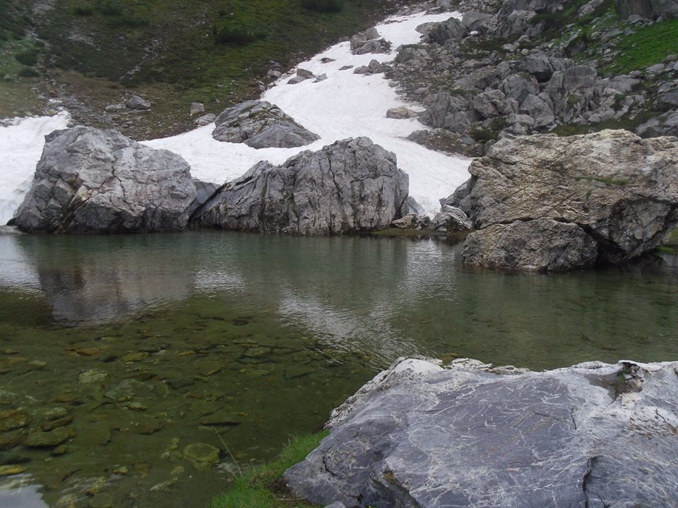 laghetto del Marguareis