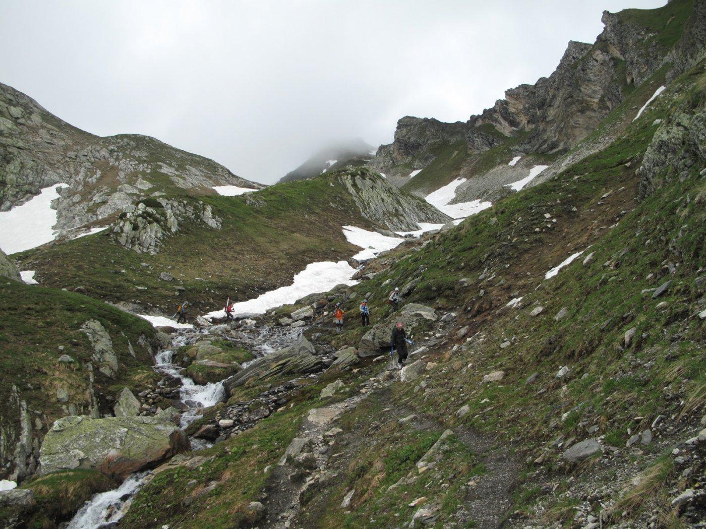 Fine della neve a 2460m