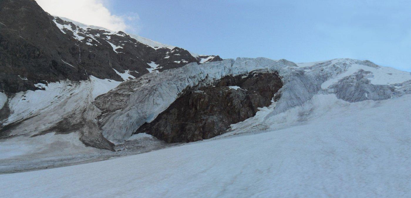 seracchi del primo risalto dello Steigletscher