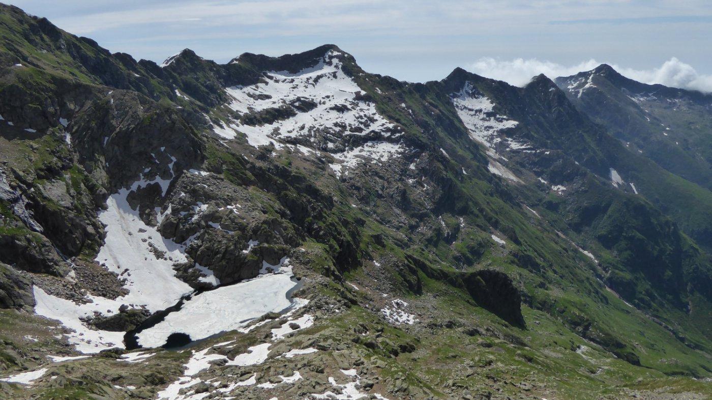 Carpior (Costa) quota 2635 m da Berchiotto, possibile anello per il Monte del Prà 2015-06-18