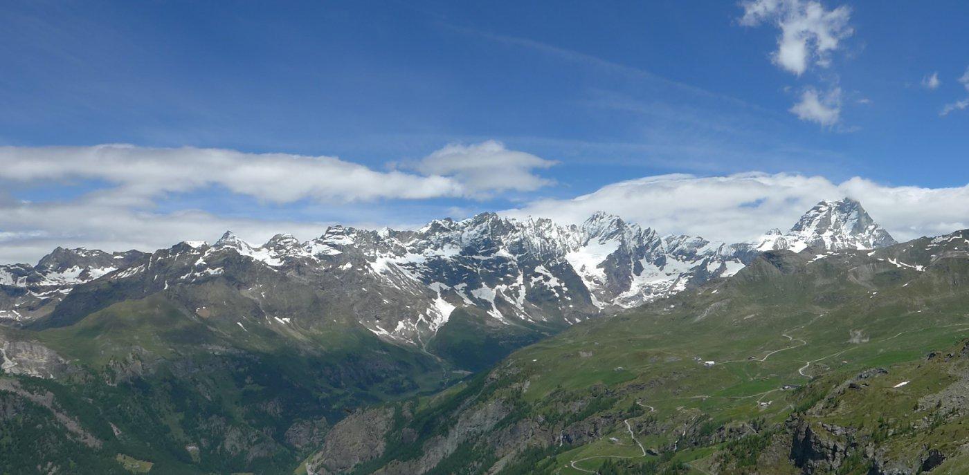 Panorama dalla q. 2485 del M. Molar