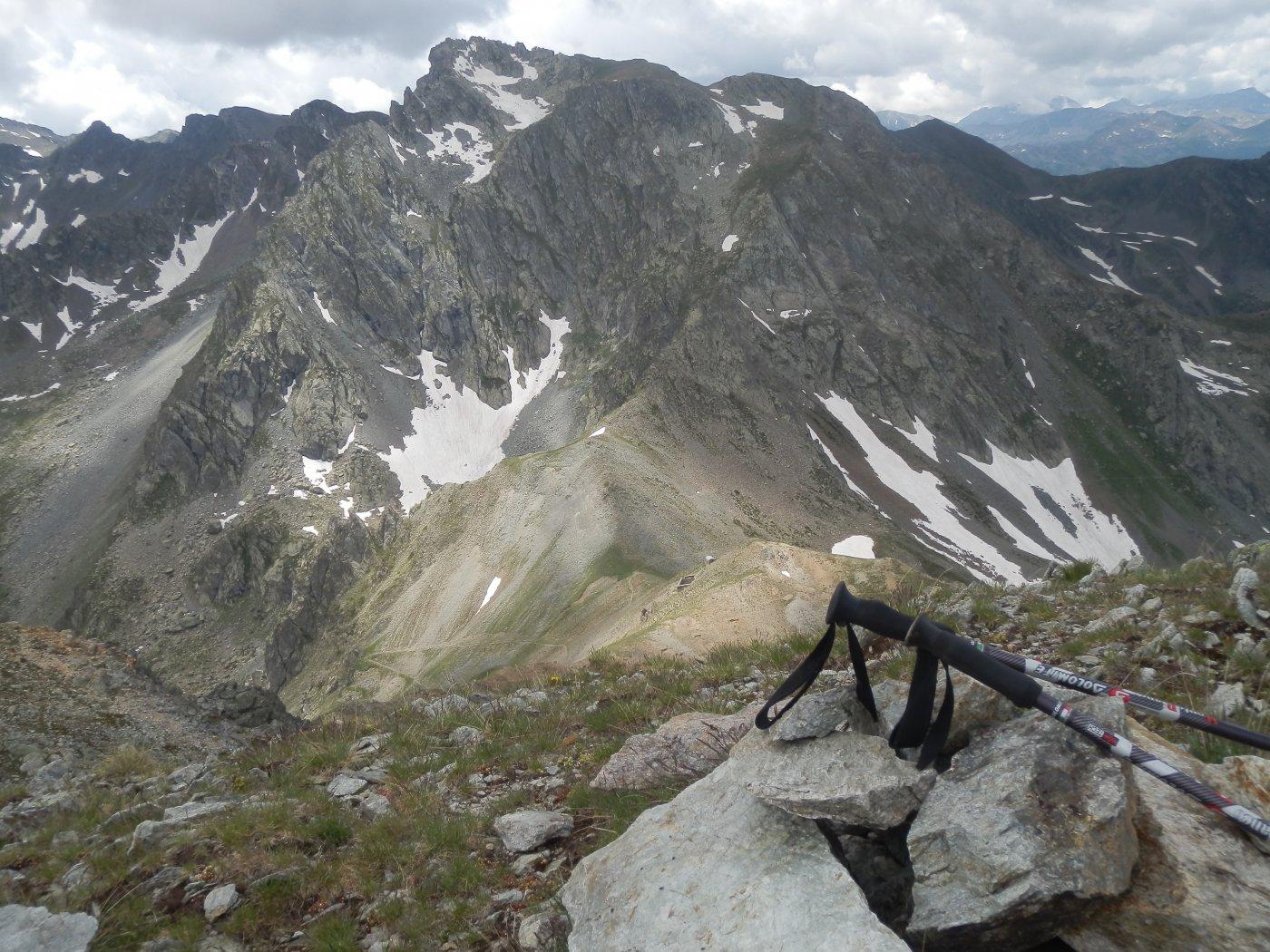 dalla Rocca verde, vista verso SW