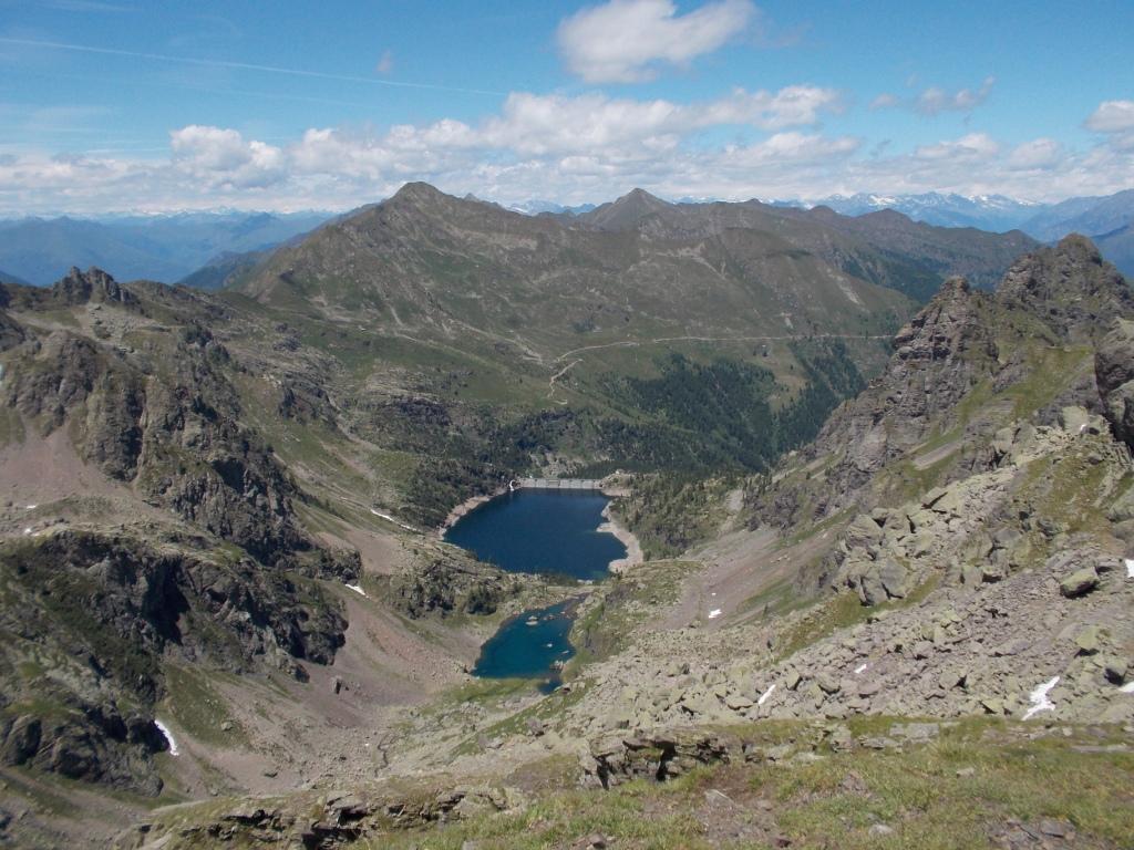 I laghi di Trona e Zancone visti dalla Cima Piazzotti