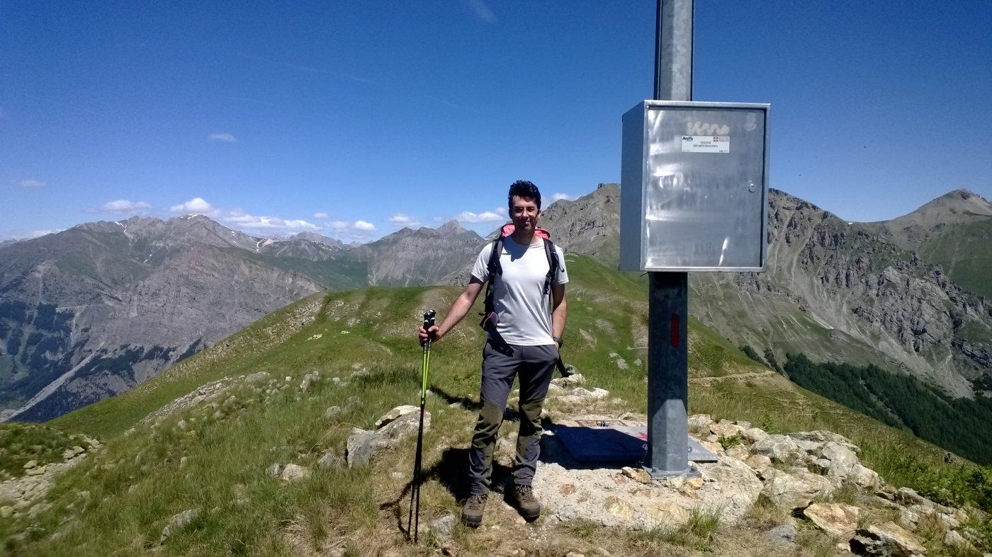 mio fratello in cima al monte Autes