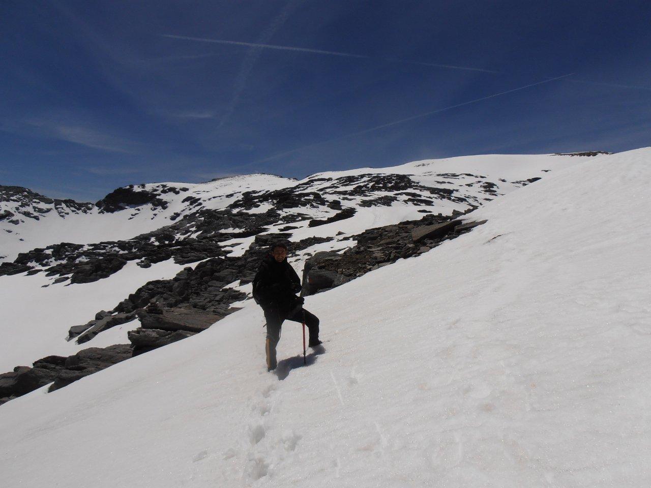 09 - Max sulla cresta in discesa